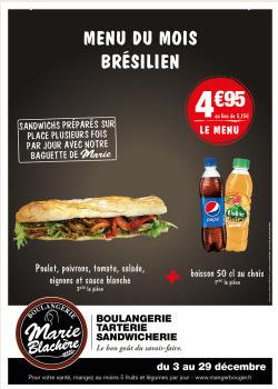 Promos de Restaurants dans le prospectus de Marie Blachère à Niort