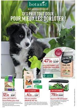 Promos de Jardineries et Animaleries dans le prospectus de Botanic à Montpellier ( 14 jours de plus )