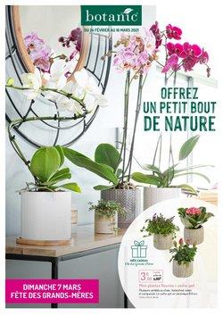 Promos de Jardineries et Animaleries dans le prospectus de Botanic à Marseille ( 9 jours de plus )