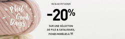 Phildar coupon à Paris ( 3 jours de plus )