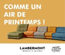 Meubles Lambermont coupon ( 9 jours de plus )