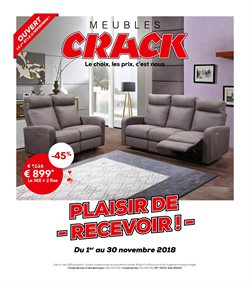 Meubles Crack | Black Friday et promos Novembre 2018