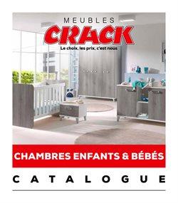 Promos de Meubles et Décoration dans le prospectus de Meubles Crack à Nîmes ( Plus d'un mois )