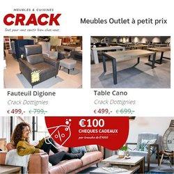 Meubles Crack coupon ( 2 jours de plus)