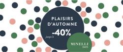Promos de Minelli dans le prospectus à Paris