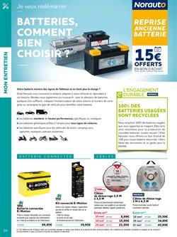Batterie de voiture à Norauto