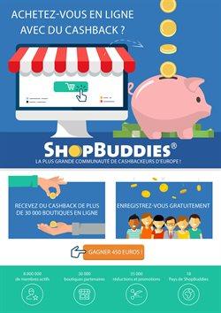 Promos de ShopBuddies dans le prospectus à Paris