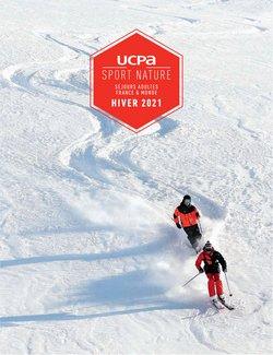 Promos de Voyages dans le prospectus à UCPA ( Plus d'un mois)