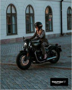 Promos de Voitures, Motos et Accessoires dans le prospectus à Triumph ( 4 jours de plus)
