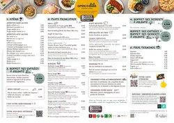 Promos de Restaurants dans le prospectus à Crocodile ( Expire ce jour)
