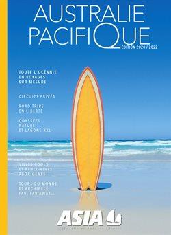 Promos de Voyages dans le prospectus de Asia à Nice ( Plus d'un mois )