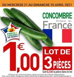 Promos de Hyper-Supermarchés dans le prospectus de marché frais Géant à Paris ( Il y a 2 jours )