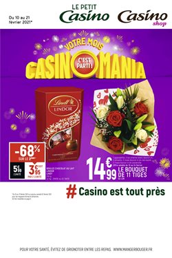 Casino Shop coupon ( Expiré )