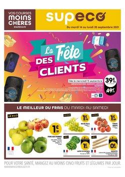 Promos de Hyper-Supermarchés dans le prospectus à Supeco ( 4 jours de plus)
