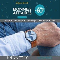 Promos de Bijouteries dans le prospectus à Maty ( 13 jours de plus)