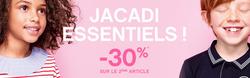 Promos de Jacadi dans le prospectus à Paris