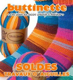 Promos de Culture et Loisirs dans le prospectus à Buttinette ( Expire ce jour)