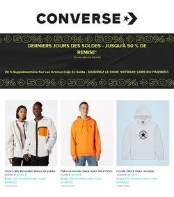 Promos de Converse dans le prospectus à Converse ( 11 jours de plus)