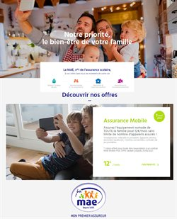 Promos de Banques et Assurances dans le prospectus de MAE à Marseille ( Plus d'un mois )