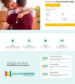 Promos de Banques et Assurances dans le prospectus de Square Habitat à Nice ( 18 jours de plus )