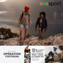 Promos de Sport dans le prospectus à Ekosport ( 2 jours de plus)