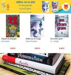 Promos de Librairies dans le prospectus à Decitre ( 18 jours de plus)
