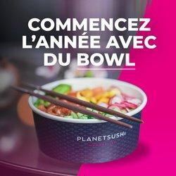 Promos de Restaurants dans le prospectus à Planet Sushi ( 9 jours de plus)