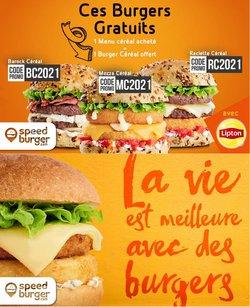 Speed Burger coupon ( Expiré )