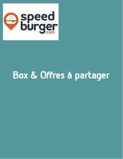 Speed Burger coupon ( 5 jours de plus )
