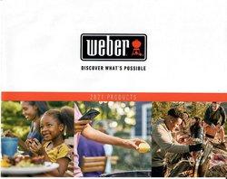 Promos de Weber dans le prospectus à Weber ( Plus d'un mois)