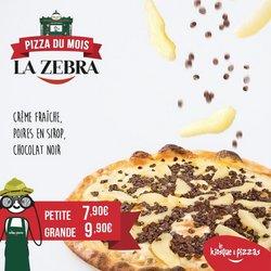 Promos de Restaurants dans le prospectus à Le Kiosque A Pizza ( 3 jours de plus)