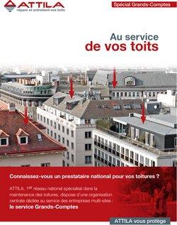 Promos de Banques et Assurances dans le prospectus à Attila ( Plus d'un mois)