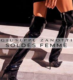 Promos de Giuseppe Zanotti dans le prospectus à Giuseppe Zanotti ( 6 jours de plus)