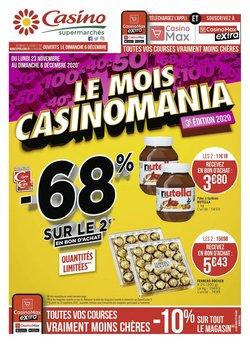 Nutella à Hypermarché Casino