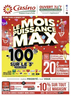 Hypermarché Casino coupon ( Il y a 2 jours )