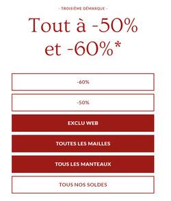 Promos de Comptoir des cotonniers dans le prospectus à Montigny-le-Bretonneux