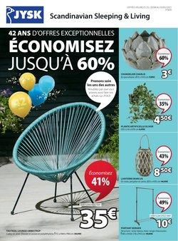 JYSK coupon ( Publié hier )