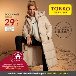 Promos de Marques de luxe dans le prospectus à Takko ( 3 jours de plus)
