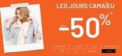 Camaieu coupon à Nantes ( Expire demain )