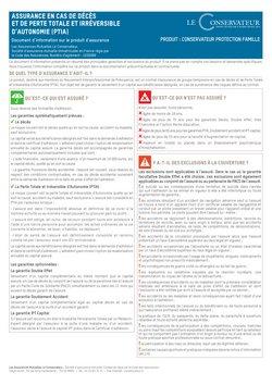 Promos de Banques et Assurances dans le prospectus à Le Conservateur ( Plus d'un mois)
