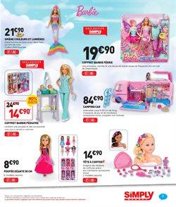 Promos de Poupée Barbie dans le prospectus de Simply Market à Paris