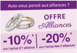 Promos de Mariage dans le prospectus de point mariage à Joué-lés-Tours