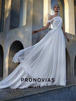 Promos de Mariage dans le prospectus à Pronovias ( Plus d'un mois)