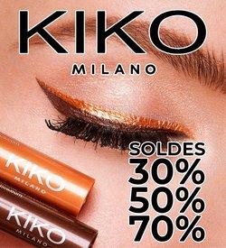Kiko coupon ( 5 jours de plus)