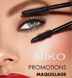 Promos de Parfumeries et Beauté dans le prospectus à Kiko ( Publié hier)