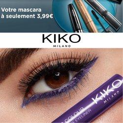 Promos de Parfumeries et Beauté dans le prospectus à Kiko ( 6 jours de plus)
