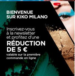 Promos de Kiko dans le prospectus à Paris