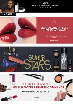 MAC Cosmetics coupon ( Il y a 2 jours )