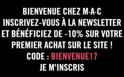 Promos de MAC Cosmetics dans le prospectus à Paris