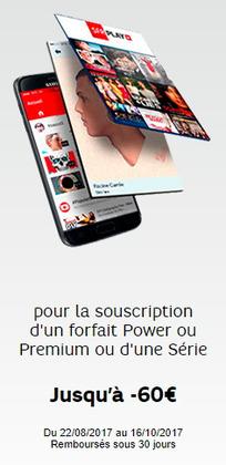 Promos de SFR dans le prospectus à Paris